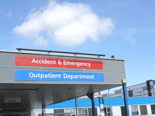 Accident & Emergency Receptionist