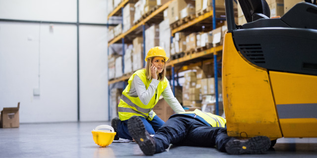 Accident at Work - Injury By Forklift - Nash & Co Solicitors