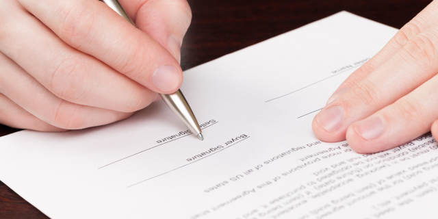 Breach of Contract - Signing of Document - Nash & Co Solicitors