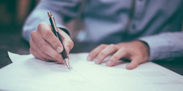 Confidential Information - Signing of Documents - Nash & Co Solicitors