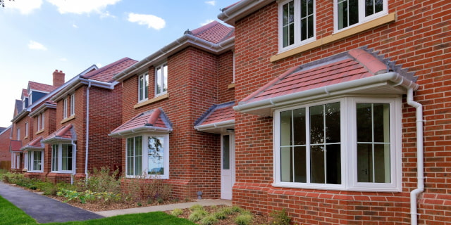 Conveyancing Solicitors - Row of Houses - Nash & Co Solicitors