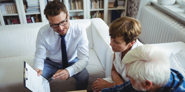 Personal Tax Planning - Couple Discussing Finance- Nash Co Solicitors