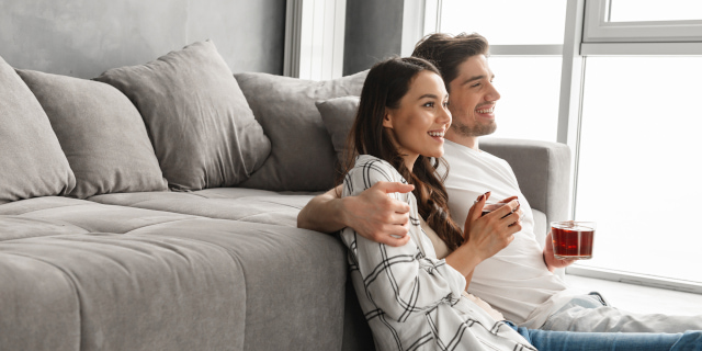 Prenuptial Agreements - Couple In Lounge - Nash & Co Solicitors