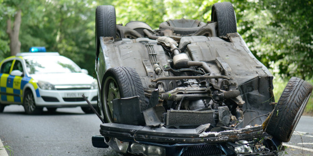 Road Traffic Accident - Car Rolled Over - Nash & Co Solicitors