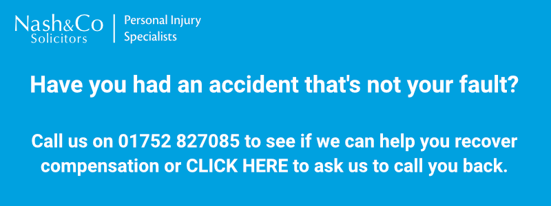 If you'd like to talk to us about a claim, call us on 01752 827085